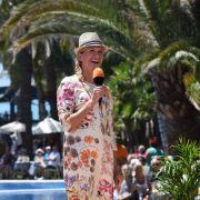 Andrea Kiewel feiert mit Joachim Llambi auf Gran Canaria (Foto)
