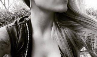 """""""Nacht!"""" schreibt Sophia Thomalla zu diesem sexy Selfie. (Foto)"""