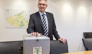 Andreas Glarner, Bürgermeister von Oberwil-Lieli (Schweiz), ist erfreut über die Abstimmung seines Dorfes. (Foto)