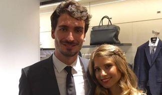 Mats Hummels und Cathy sind seit 2015 verheiratet. (Foto)