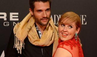 Maite Kelly und ihr Ehemann Florent Michel Raimond. (Foto)
