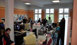 Die 10. Lange Nacht der Computerspiele lockte auch in diesem Jahr wieder zahlreiche Besucher an. (Foto)