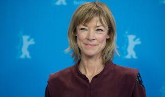Schauspielerin Jenny Schily bei der Berlinale. (Foto)