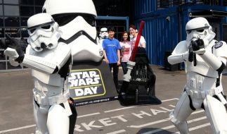 Am 04. Mai feiern Star Wars Fans den Star Wars Day. (Foto)