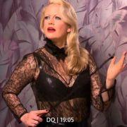 Fetisch-Alarm! Barbara Schöneberger im sexy Domina-Outfit (Foto)