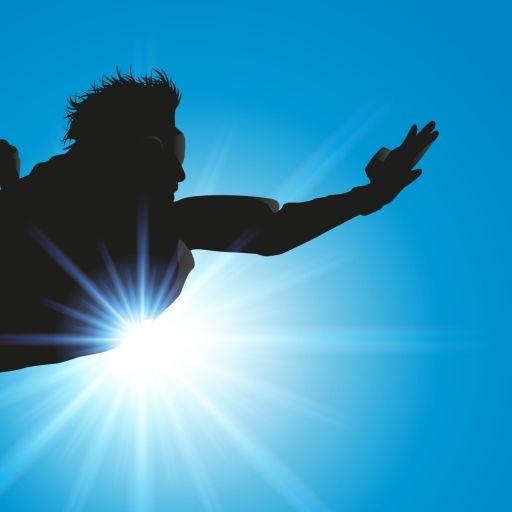 Fallschrimspringen ohne Fallschirm (Foto)