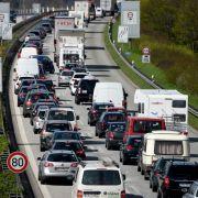 Stau nach Herrentag: Auf diesen Autobahnen wird es eng (Foto)