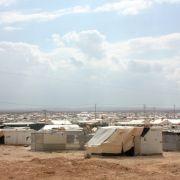 Luftangriff auf Flüchtlingslager in Syrien (Foto)