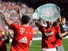 Der FC Bayern ist zum vierten Mal hintereinander Deutscher Meister. (Foto)