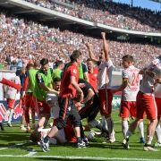 RB Leipzig schafft den Aufstieg - Paderborn vor Abstieg (Foto)