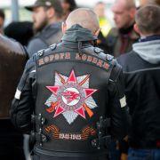 """Die russischen """"Nachtwölfe"""" sind wieder in Berlin (Foto)"""