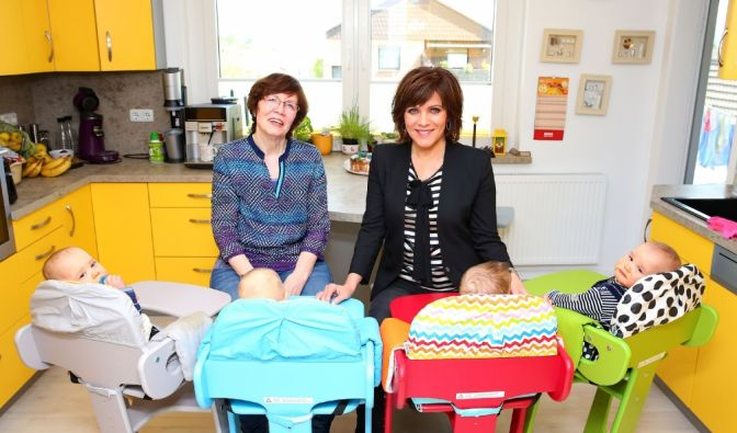 Birgit Schrowange besucht Annegret Raunigk