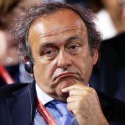 UEFA-Präsident Michel Platini tritt zurück (Foto)