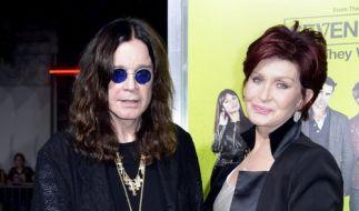 Rocken angeblich nicht mehr zusammen: Ozzy und Sharon Osbourne. (Foto)