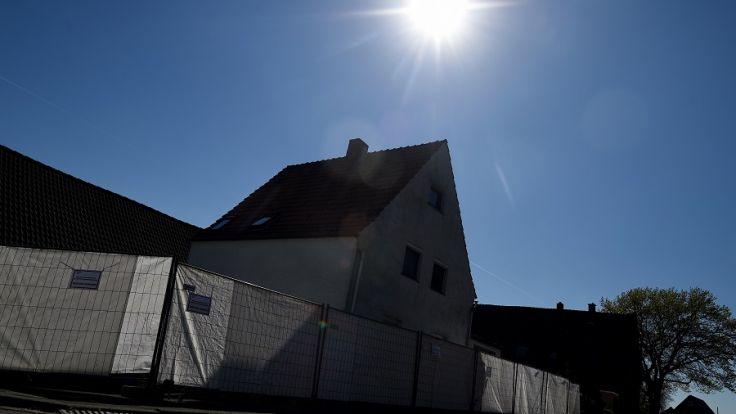 """Das sogenannten """"Horror-Haus"""" in Höxter-Bosseborn. (Foto)"""