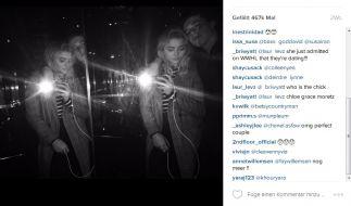 Bereits seit Wochen postet Brooklyn Beckham Fotos mit seiner Freundin auf Instagram. Den Fans scheint es zu gefallen. (Foto)