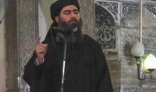 Abu Bakr al-Baghdadi, der selbsternannte Kalif des Islamischen Staates (IS). (Foto)