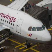 Rauch im Cockpit! Germanwings-Maschine muss notlanden (Foto)