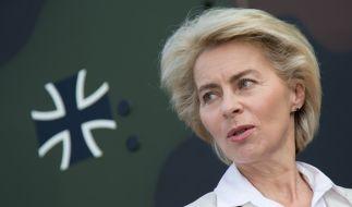 Die Anzeichen, dass Verteidigungsministerin Ursula von der Leyen nach einem neuen Amt sucht, mehren sich. (Foto)