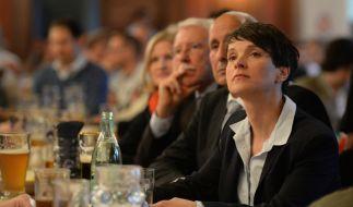 Über diesen Satz eines AfD-Politikers dürfte sich Frauke Petry alles andere als freuen. (Foto)