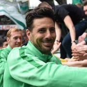 Pizarro verlängert Vertrag bei Werder Bremen (Foto)