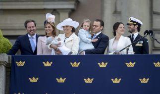 Das sympathische schwedische Königshaus kommt aus dem Feiern gar nicht mehr heraus. (Foto)