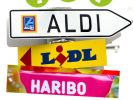 Aldi, Haribo und Co.