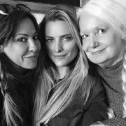 Süßes Familienfoto! Die Thomalla zeigt sich ganz privat (Foto)