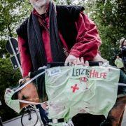Blutverschmiert auf dem WGT: Gothics aus aller Welt präsentierten ihre