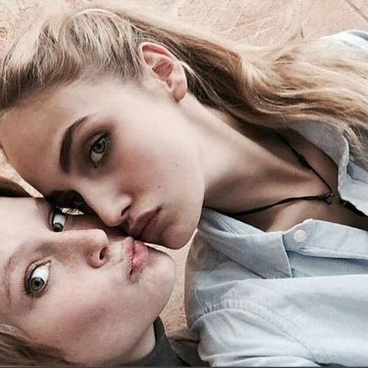 So böse spielen sie mit ihrem Lesben-Image (Foto)