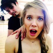 Victoria Swarovski brach sich beim Training mit Tanzpartner Erich Klann sogar eine Rippe.