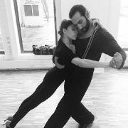Gaaaaanz viel Spannung und Gefühl beim Tango-Training.