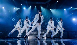 """Jede Tanzbewegung sitzt: Die Backstreet Boys begeisterten ihre Fans bei der """"In A World Like This""""-Tour in Europa, Asien und Amerika. (Foto)"""