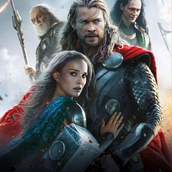 Chris Hemsworth gibt sich als Beschützer von Natalie Portman (Foto)