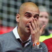 DESHALB weinte Pep Guardiola so bitterlich (Foto)