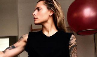 Sophia Thomalla zeigt sich beim Fitness-Workout. (Foto)