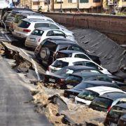 Darum sackte die Straße im Zentrum von Florenz ab (Foto)