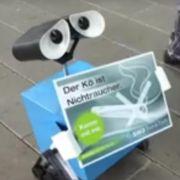 """Roboter """"WALL·E"""" soll Rauchern den Garaus machen (Foto)"""