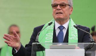 Würdigte das Wirken der Kirchen in Deutschland: Bundespräsident Joachim Gauck. (Foto)