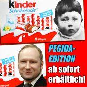 """Titanic"" verspottet Rassisten mit Pegida-Schokolade (Foto)"