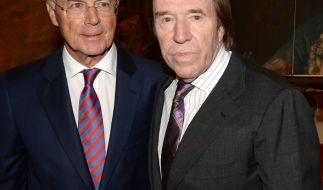 Franz Beckenbauer und Günter Netzer (v.li.). (Foto)