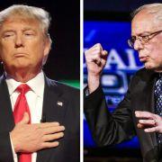 Kauft sich Sanders Duell mit Trump? (Foto)