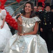 Hier noch als Werbegesicht gebucht: Naddel bei der Leipziger Hochzeitsmesse 1999.