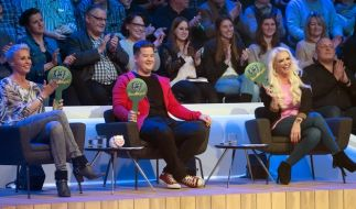 Sonja Zietlow, Chris Tall und Daniela Katzenberger bewerten die tierischen Talente. (Foto)