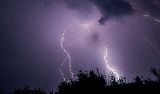Schwere Unwetter haben in Deutschland Schäden angerichtet. (Foto)