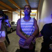 Er ist einer der Männer, die die 16-Jährige vergewaltigt haben sollen: Rai de Souza (22) bei seiner Festnahme.