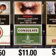 In Kanada wurden die Schockbilder im Jahr 2001 eingeführt. Dort fiel der Anteil der Raucher von 24 auf 17 Prozent.