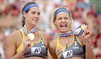 Stark: Kira Walkenhorst (l.) und Laura Ludwig. (Foto)