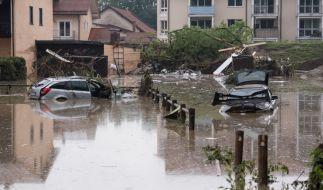 Nach dem Hochwasser in Niederbayern mit mindestens vier Toten wird eine weitere Person vermisst. (Foto)
