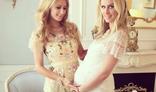 Die zweite Baby-Shower veranstaltete Paris Hilton für ihre Schwester in den Waldorf Towers in New York. (Foto)